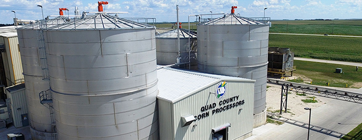 Quad County Corn Processors Provides Quality Ethanol to the Nation from Iowa